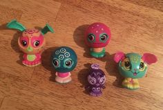 ZOOBLES  SPIN MASTER & POP UP CHARACTERS LOT OF 5 #SPINMASTERSTSML