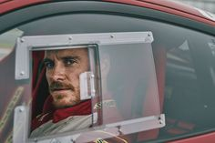 charliegrayphotographerMy portrait of Michael Fassbender behind the wheel of the Ferrari 488 GTB on the track at Circuit of the Americas in Austin, Texas USA for TOFM
