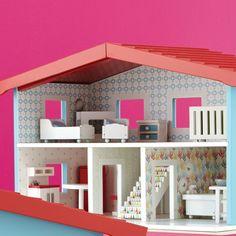 Cottage Dollhouse Decor Kit | The Land of Nod