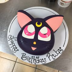 Sailor Moon Kitty Cake