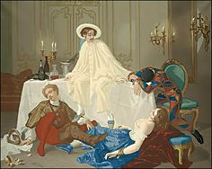 Thomas Couture - The Supper after the Masked Ball - Pierrot - Wikipedia, the…