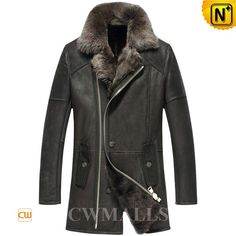 CWMALLS® Mens Toscana Leather Trench Coat CW855569 - This luxurious Toscana leather trench coat will keep you warm this winter and season after season, made from real 100% Genuine Toscana Sheepskin which is one of the most luxurious and silkiest wool, stylish zip closure and fashion convenient pockets, you will stay toasty and beautiful in this Toscana sheepskin trench coat in the extreme cold weather.
