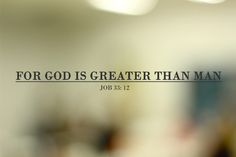 My God is higher than any other.