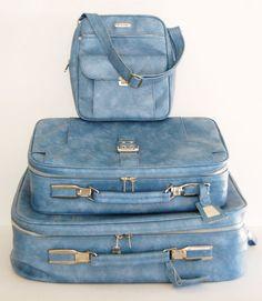 vintage luggage set