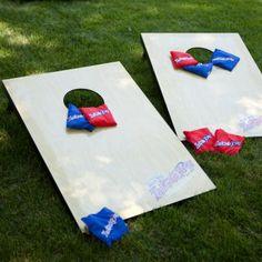 {backyard game} wooden tailgate toss ~ crazy fun!