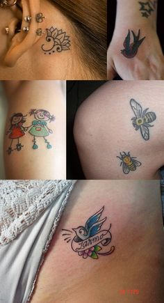 Cute Small Tatoos On Pinterest  Tattoos For Women