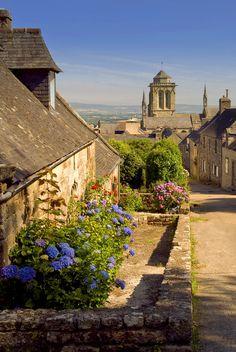 Locronan - in the Finistère,  Brittany region,  France, #Bretagne