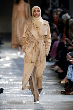 Halima Aden has become a beacon of diversity this season. We were thrilled to see the beautiful hijab-wearing model turn up at Max Mara and Alberta Ferretti.