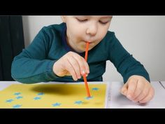 Fun Ordering Number Game For Preschoolers | STRAW ACTIVITIES - YouTube
