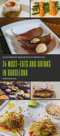 Barcelona: 14 Must-eats and drinks