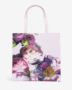 Large Sunlit Floral shopper bag - Pale Pink | Bags | Ted Baker NEU