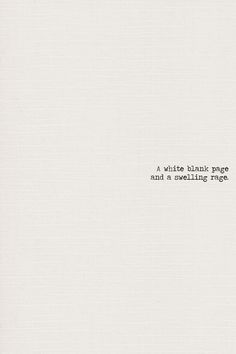 White Blank Page - Mumford and Sons