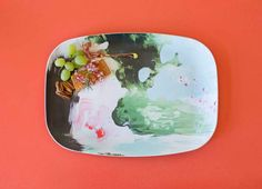 Peppermint Moss Melamine Platter