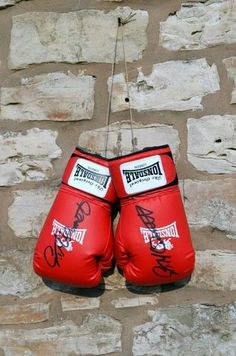 Lonsdale Boxing Gloves signed by Gavin McDonnell