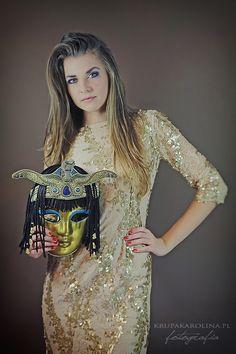 Maska Kleopatra - sesja