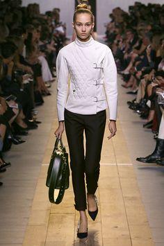 Dior white top - Prêt-à-Porter Primavera-Estate 2017.
