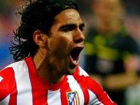 Partido de la 29ª jornada de la Liga 2011 2012 con el resultado de Atlético de Madrid 2-1 Athletic Club.