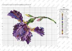 Beaded Embroidery, Cross Stitch Embroidery, Hand Embroidery, Cross Stitch Patterns, Embroidery Designs, Cross Stitch Rose, Cross Stitch Flowers, Needle And Thread, Pattern Design