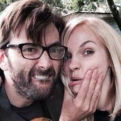 the cutest couple I've ever known Happy 5th Anniversary #GeorgiaTennant #DavidTennant #GeorgiaMoffet