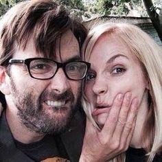 the cutest couple I've ever known Happy 5th Anniversary #GeorgiaTennant #DavidTennant #GeorgiaMoffet