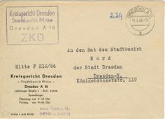 Dresden Kreisgericht Dresden Stadtbezirk Mitte