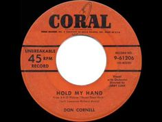 "▶ 1954 HITS ARCHIVE: Hold My Hand - Don Cornell (from ""Susan Slept Here"") - YouTube"