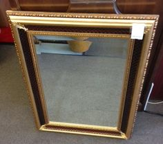 """This attractive mirror comes from The Bombay Company, made in Italy and only $65 (22""""x 31"""")"""