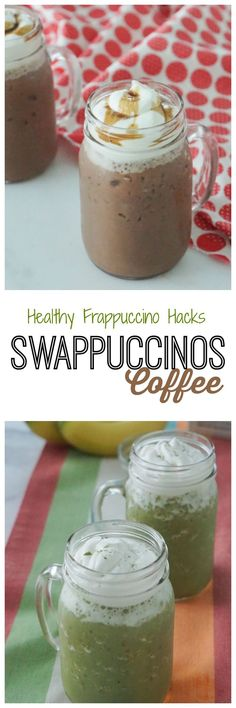 Check out my Three Healthier Dairy-Free Frappuccino Hacks! #ad #swappuccinos