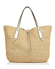 Annabel Ingall Isabella Large Raffia Tote - 100% Exclusive