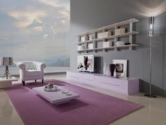 Hervorragend Minimalist Living Room With Pink Best Performance In Minimalist Home Design  Ideas