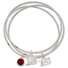 Tony Stewart Ladies Spirit Crystal Bangle Bracelet Set