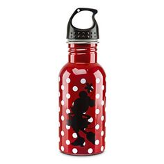 Where all your Wishes Dreams and Wants come true! Disney Souvenirs, Disney Parks, Disney Water Bottle, Minnie Mouse, Disney Wishes, Aluminum Water Bottles, Autograph Books, Disney Kitchen, Disney Home