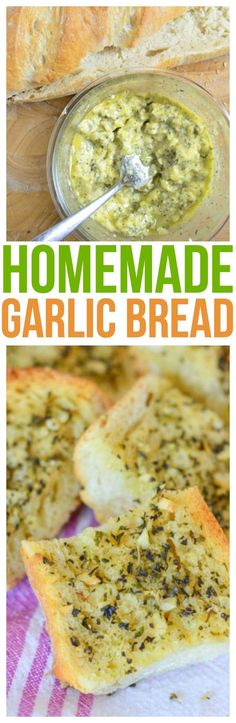 Serve our garlic bread recipe at your next dinner party! We love serving our loaded garlic bread with our Italian dinners like Sunday Sauce. via @CourtneysSweets