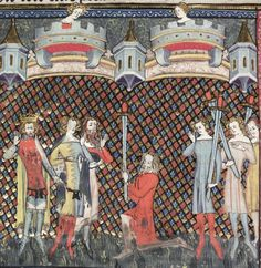 Bodleian Library MS. Bodl. 264, The Romance of Alexander in French verse, 1338-44; 125v