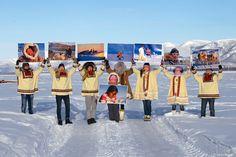Galya Morrell at Circum-Arctic Art Show - Circum-Arctic Gallery