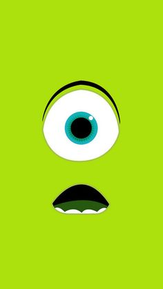 Monsters University - Mike Wazowski iPhone 6 / 6 Plus wallpaper
