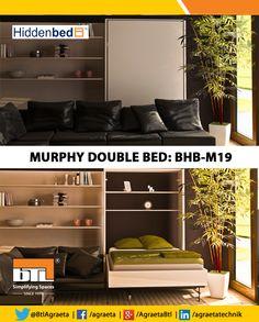 BTL - #HiddenBed's #Murphy bed is a #SpaceSaving option! #BTL #SimplifyingSpaces http://www.hiddenbedusa.com