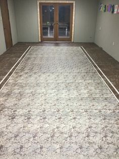 Here is the stained concrete floor I did for The Bountiful House in Texas. It turned out better than I planned.