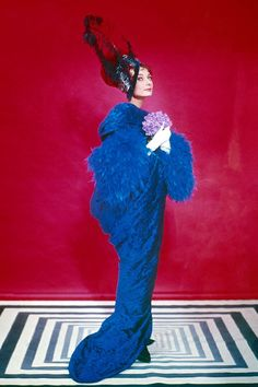 another Cecil Beaton special modeled by Audrey Hepburn and not used in 'My Fair Lady'