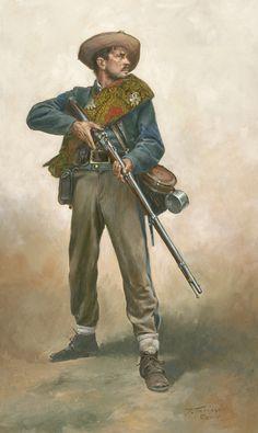 """Confederate First Sergeant"" Don Troiani Civil War Civil War Military Art, Military History, Military Uniforms, American Civil War, American History, Civil War Art, Confederate States Of America, Historical Art, Historical Costume"