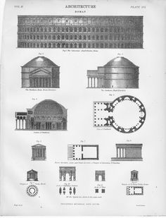 an overview of one of ancient romans finest architecture the pantheon Ahuitzotl also constructed monumental architecture in  and as the aztec empire grew so did their pantheon because  one entire work was devoted to ancient.