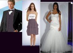 bridal party vision - two toned bridesmaid dress, (not my wedding dress)