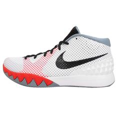 a48445b17dfb3 Nike Kyrie 1 EP Kyrie Irving White Grey Infrared Mens Basketball Shoes  Sneakers