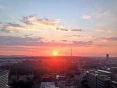 Sunset in Joburg Clouds, Celestial, Sunset, City, Outdoor, Sunsets, Outdoors, Cities, Outdoor Living