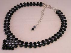 Beadwork Choker Necklace  #Etsy #handmade #jewelry #promotingwomen