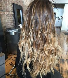 Get your Balayage on! Color by @hairbylianne_  #hair #hairenvy #hairstyles #haircolor #bronde #ombre #balayage #highlights #newandnow #inspiration #maneinterest