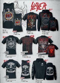 #Slayer - Slayer Merchandise Camisetas - EMP Online España Catálogo Verano 2014 • Tienda Rock Heavy Metal Gótica y Ropa Alternativa > emp.me/6mn http://emp.me/6mn