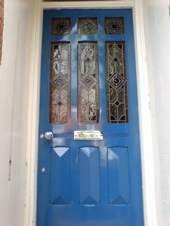 Edwardian front doors | 9 panel glazed edwardian style entrance door