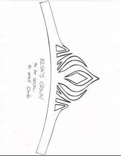 Elsa's crown pattern