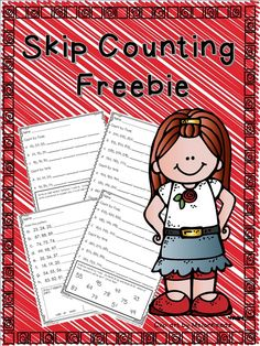 Skip Counting Freebie for 2nd grade--2.NBT.2--FREE second grade math tallers mates